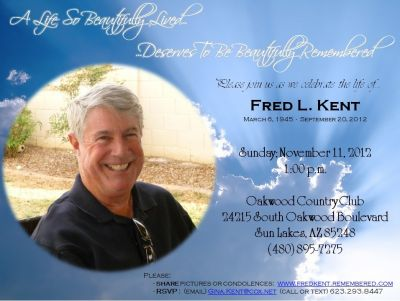 Fred Memorial Video
