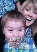The life and lives of Leeha Reid