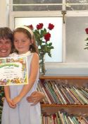 Karen with her 2006 kindergarten class at Dorris-Eaton